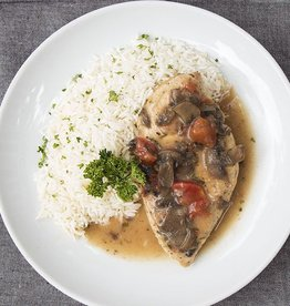 Chicken Chasseur Dinner (Serves 2)