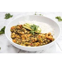Lentil Curry Vegetarian Dinner (Serves 2)