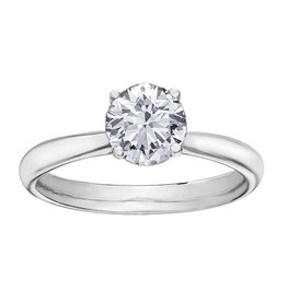 Brilliant (1.07ct) Canadian Diamond Solitare Ring