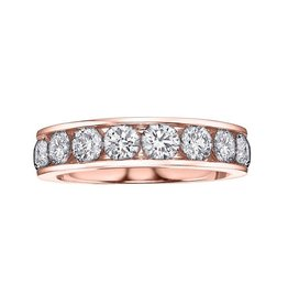 I am Canadian Anniversary Band (0.50ct) Rose Gold Canadian Diamonds
