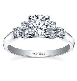 Maple Leaf Diamonds White Gold (1.00cttw) Canadian Diamond Engagement Ring