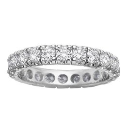 White Gold (2.00cttw) Diamond Band Eternity Band