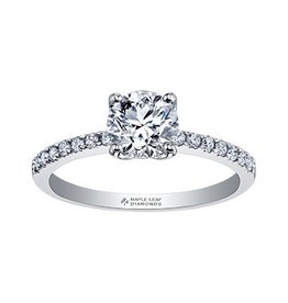 Brilliant (0.33ct) Certified Canadian Diamond Ring