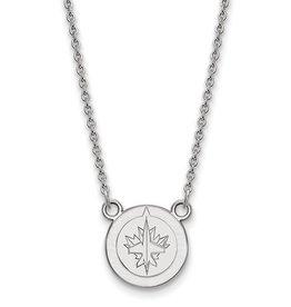 Winnipeg Jets Sterling Silver Necklace
