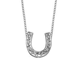 Forever Jewellery White Gold (0.06cttw) Diamond Cross Pendant