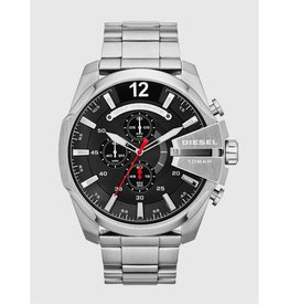 Diesel Chief Black Dial with Red Second Hand