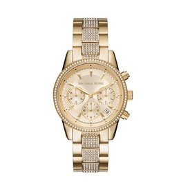 Michael Kors Ritz Gold Tone Watch