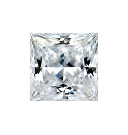 Moissanite 6mm Square Princess Cut Forever One (Approx 1.0ct)