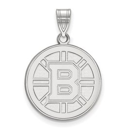 Boston Bruins Sterling Silver Pendant (large)