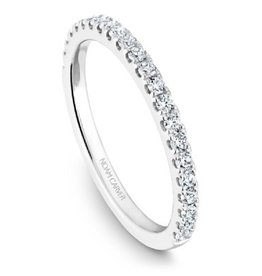 Noam Carver 14K White Gold Diamond Matching Band to B101-01A