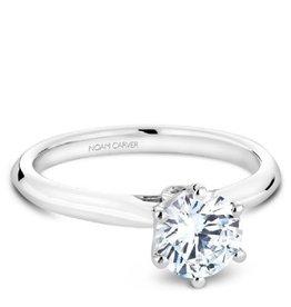 Noam Carver 14K White Gold Diamond Mount