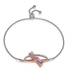 Elle Mystic Quartz Bolo Bracelet