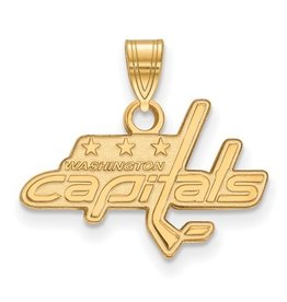 Washington Capitals Pendant 10K Yellow Gold (20mm)