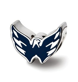 Washington Capitals Sterling Silver Bead Charm