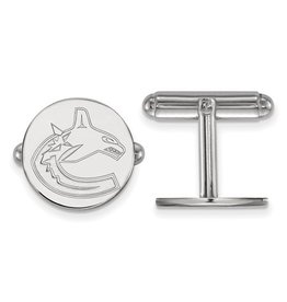 Vancouver Canucks Sterling Silver Cuff Links