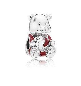 Pandora 797564ENMX - Limited Edition Christmas Bear Charm