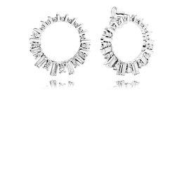 Pandora 297545CZ - Glacial Beauty Hoop Earrings
