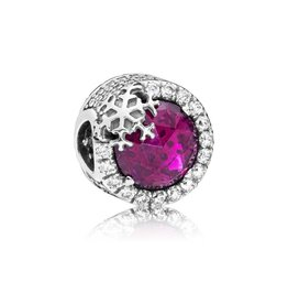 Pandora 797555NCC - Sterling silver, Red, Mixed stones