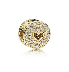 Pandora Heart of Luxury Clip, PANDORA Shine™