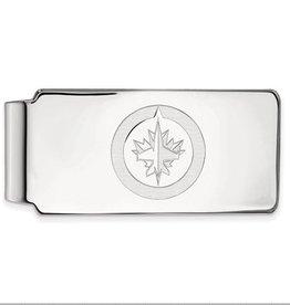 Winnipeg Jets Sterling Silver Money Clip