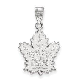 Toronto Maple Leafs Pendant 10K White Gold