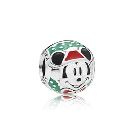Pandora 797502ENMX - Disney, Santa Mickey Charm
