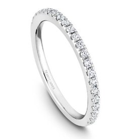 Noam Carver Diamond Matching Band to R046-02A