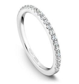 Noam Carver Diamond Matching Band to B017-01A
