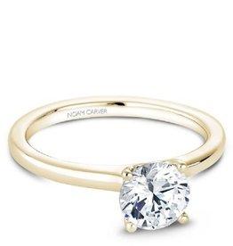 Noam Carver Bridal Mount Yellow Gold