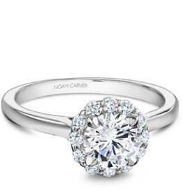 Noam Carver Bridal Diamond Mount White Gold