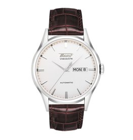 Tissot Visodate Automatic with Brown Leather Strap