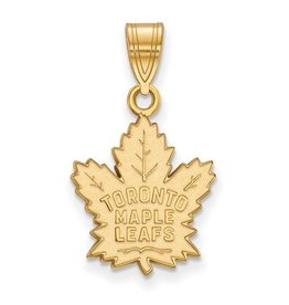 Toronto Maple Leafs 10K Yellow Gold (14mm)