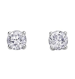 Diamond Studs (0.50ct) White Gold