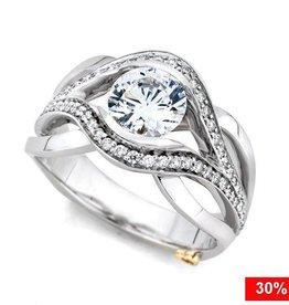 Mark Schneider Sublime 14K White Gold Diamond Mount