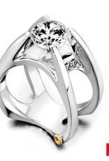 Mark Schneider Moonglow 14K White Gold Diamond Mount