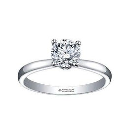 Maple Leaf Diamonds Circle of Love (0.45ct) Canadian Diamond Ring 18K White Gold
