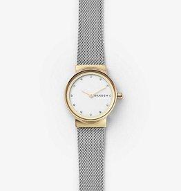 Skagen Freja Two-Tone Steel-Mesh Watch