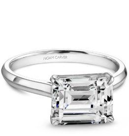 Noam Carver Bridal Mount 14K White Gold