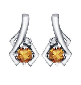 Citrine & Diamond