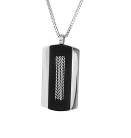 Steelx Two Tone Dog Tag