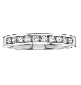 White Gold (0.20ct) Anniversary Band