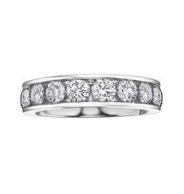 White Gold (0.33ct) Diamond Anniversary Band
