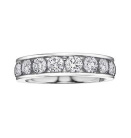 White Gold (0.75ct) Diamond Anniversary Band