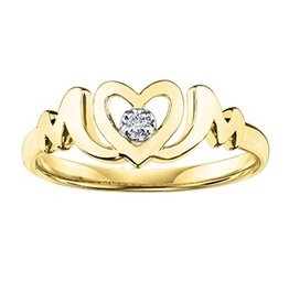 Diamond Mom Ring