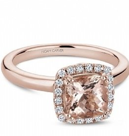 Morganite & Diamond