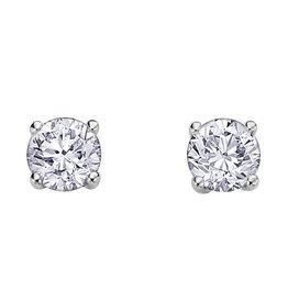 Canadian Diamond Studs (0.84ct) White Gold