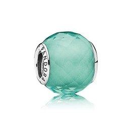 Pandora 791499SGQ - Petite Facets Syn Green Quartz