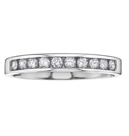 White Gold (0.15ct) Anniversary Band