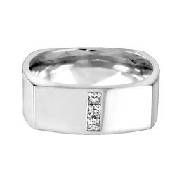 Square Band (0.12ct)