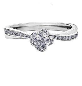 Maple Leaf Diamonds Winds Embrace (0.50ct) Canadian